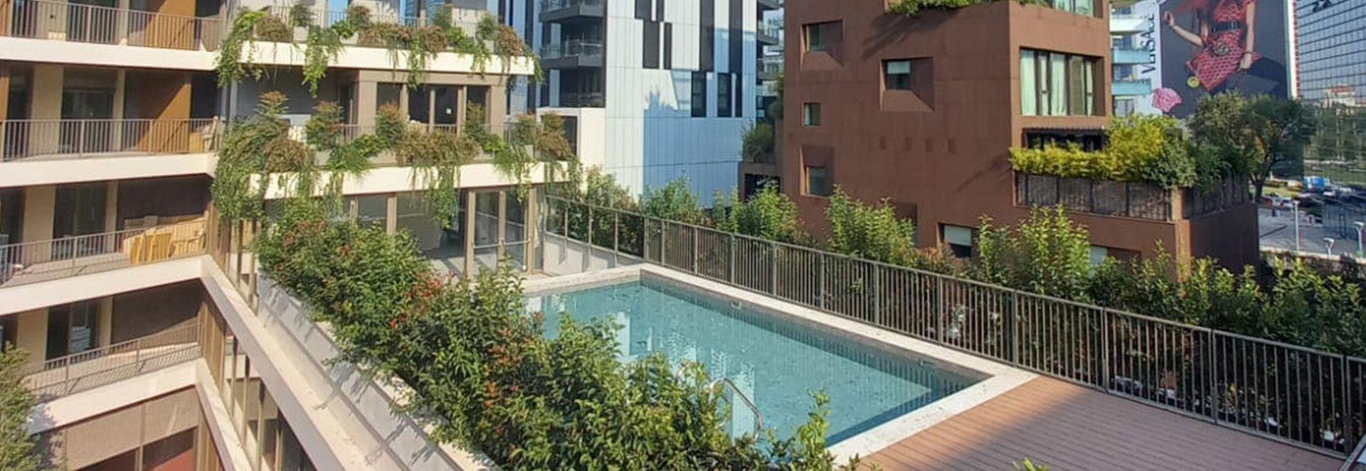 progettazione terrazze verdi a bergamo